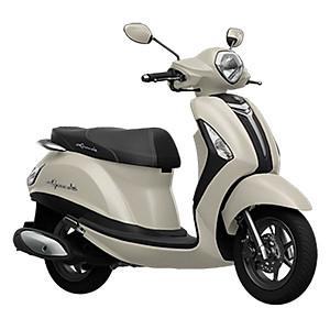 Xe Máy Yamaha Grande Deluxe - Trắng Sữa