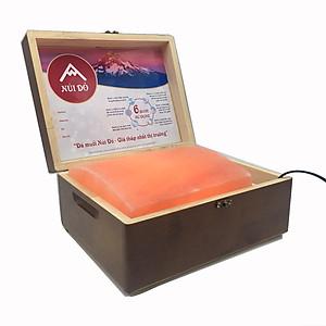 Hộp đá muối Himalaya Massage chân mặt đá CONG (NDC) - Đá Muối SALA [QC-Tiki]