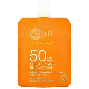 Kem chống nắng Solait Moisturising Sun Lotion Pouch SPF50 - 50ml [QC-Tiki]