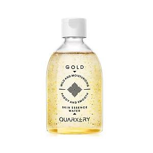 Toner tinh chất vàng cấp nước dưỡng ẩm sáng da Gold Skin Essence Water 350ml hãng QUARXERY [QC-Tiki]