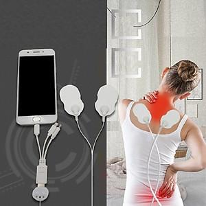 Máy massage trị liệu mini USB (có đầu cho điện thoại) [QC-Tiki]