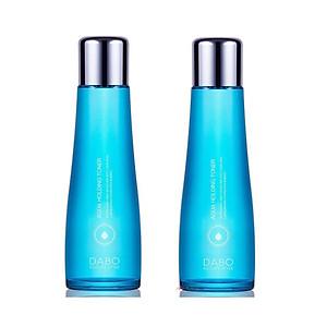 Combo 2 chai nước hoa hồng dưỡng trắng và thu nhỏ lỗ chân lông Dabo Aqua Holding Toner 150ml - Hàn Quốc Chính Hãng [QC-Tiki]