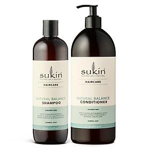 Combo Chăm Sóc Tóc Từ Thiên Nhiên Natural Balance Shampoo 500ml + Conditioner 1000ml [QC-Tiki]