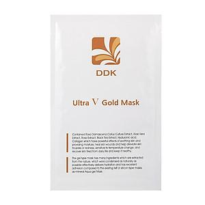 Mặt nạ vàng làm dịu và phục hồi da sau liệu trình chuyên sâu Ultra V Gold mask [QC-Tiki]