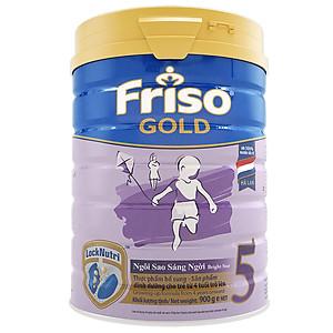 Sữa Bột Friso Gold 5 Dành Cho Bé Từ 4 Tuổi Trở Lên 900g