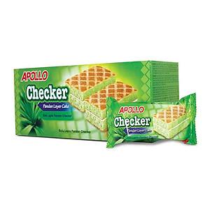 Bánh Bông Lan Giòn Lá Dứa Apollo (18 Gói x 20g)