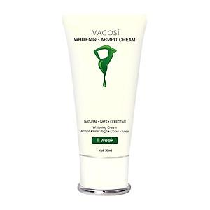 Kem Làm Trắng Vùng Da Dưới Cánh Tay Vacosi Whitening Armpit Cream (30ml) [QC-Tiki]