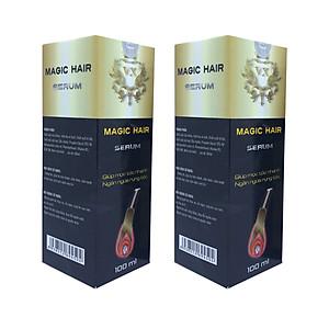 [Combo 2 chai] Xịt mọc tóc nhanh chống hói đầu, ngăn rụng tóc sau sinh, ngăn tóc bạc sớm, giảm khô, xơ, gãy rụng tóc - Magic Hair Serum [QC-Tiki]