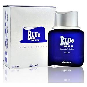 Tinh dầu nước hoa Duabai Blue for Men – Rasasi – 100ML [QC-Tiki]