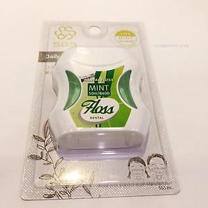 Chỉ nha khoa SGS 840D Mint 50m nhập khẩu từ Hàn Quốc ( Hương bạc hà ) [QC-Tiki]