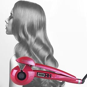 Máy uốn tóc tự động chỉnh nhiệt màn hình số - TM035 [QC-Tiki]