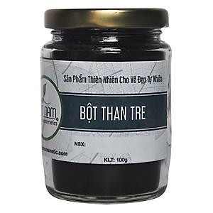 Bột Than Tre Hoạt Tính Trắng Răng (100g) [QC-Tiki]