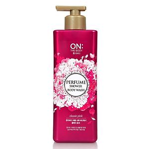 Sữa Tắm ON THE BODY The perfume hương nước hoa 500g [QC-Tiki]
