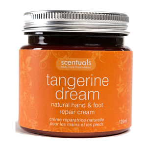 Kem Dưỡng Tay Chân Quýt Tangerine Dream Natural Hand & Foot Repair Cream Scentuals (125ml) [QC-Tiki]