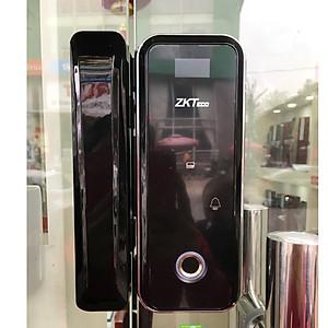 Khóa cửa kính vân tay-điều khiển ZKTeco GL300, Giá tháng 8/2020