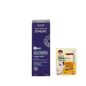 Dung dịch dưỡng ẩm, làm săn chắc da dành cho nam Eau Thermale Jonzac 50ml + Tặng kèm 1 mặt nạ mắt Mediheal [QC-Tiki]