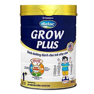 SUA DIELAC GROW PLUS 1+ 900G 1-2 TUOI CHO TRẺ NHẸ CÂN