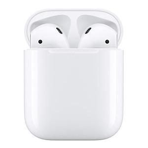 Tai Nghe Bluetooth Apple AirPods 2 True Wireless (Sạc Có Dây) - Model A2032,A2031,A1602 - Hàng Nhập Khẩu