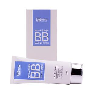 Kem Chống Nắng Trang Điểm Hàn Quốc Cao Cấp  BB Benew Magic Snow White B.B Make Up Cream (50ml) – Hàng Chính Hãng [QC-Tiki]