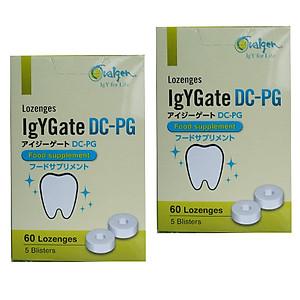 2 hộp IgYGate DC - PG - JaPan giúp giảm nguy cơ sâu răg - viêm lợi [QC-Tiki]