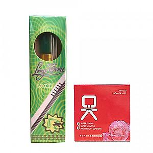 Tinh Chất Chai Xịt Thái Lan Longtime 5ml + Tặng 1 Hộp bao cao su nhỏ OKHQ Không Mùi [QC-Tiki]