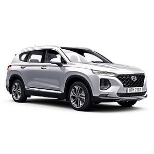 Xe Ô Tô Hyundai Santafe Xăng Premium