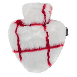 Túi chườm Fashy Germany hình Trái tim giả Lông [QC-Tiki]