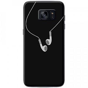 Ốp lưng dành cho Samsung S7 Edge mẫu Tai nghe