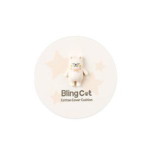 Phấn Nước Dưỡng Ẩm kiêm Chống Nắng Tonymoly Bling Cat Cotton Cover Cushion SPF/PA 50+++ [QC-Tiki]