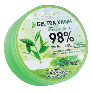 Gel nha đam Milaganics 98% Aloe Vera Gel 300ml