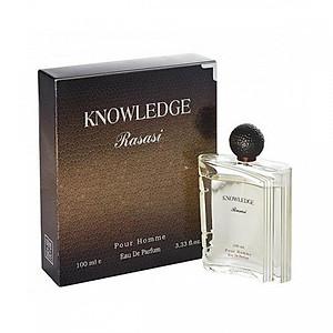 Tinh dầu nước hoa nam Dubai Rasasi Knowledge Pour Homme EDP 100ML [QC-Tiki]
