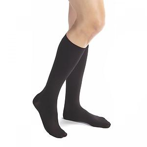 Vớ/tất y khoa gối Hỗ Trợ Điều Trị suy giãn tĩnh mạch chân JOBST Relief chuẩn áp lực 20-30mmHg (đen) [QC-Tiki]