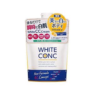 Kem Dưỡng Trắng Da Toàn Thân CC Cream White Conc - Túi 200g [QC-Tiki]