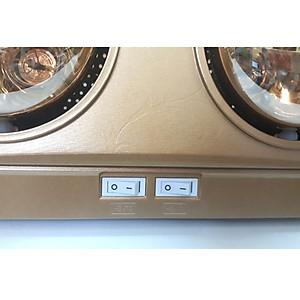 Đèn sưởi nhà tắm Kohn KN02G 2 bóng