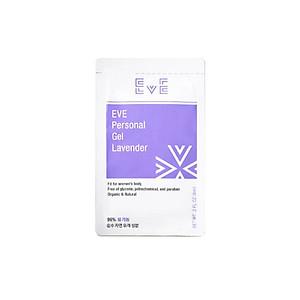 Gói Gel Bôi Trơn Gốc Nước Cao Cấp EVE Lavender Khử Mùi Hiệu Quả, Dưỡng Ẩm, Tăng Độ Trơn Tru Khi Yêu, Hương Thơm Lavender Ngọt Ngào, Dung Tích 6ml [QC-Tiki]