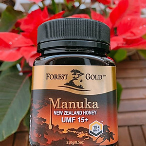 Mật Ong Manuka UMF 15+ Forest Gold - New Zealand - 250gr