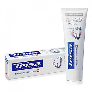Kem Đánh Răng Trisa Perfect White 75ml [QC-Tiki]