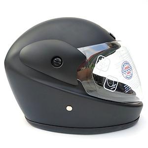 Mũ bảo hiểm fullface hàm SUNDA 555 trơn - Xám bóng