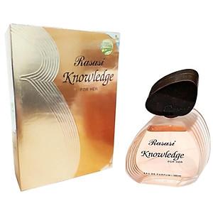 Tinh dầu nước hoa nữ Dubai Rasasi Knowledge For Her Eau De Parfum 100 ML [QC-Tiki]