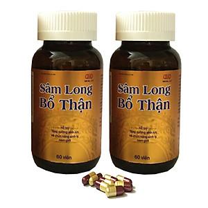 [COMBO 2 Hộp] TPCN - Sâm Long Bổ Thận - Hỗ trợ tăng cường chức năng sinh lý nam giới, Bồi bổ sinh lực sức khỏe, Giúp bổ thận, tráng dương, mạnh gân cốt, Hỗ trợ điều trị đau lưng, mỏi gối, xuất tinh sớm, yếu sinh lý [QC-Tiki]