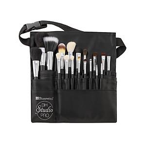 Bộ cọ trang điểm BH Cosmetic 18 Piece Studio Pro Brush Set [QC-Tiki]