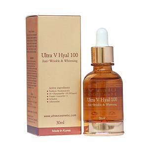 Serum dưỡng trắng và giúp da mềm mại Ultra V Hyal 100 [QC-Tiki]