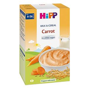 Bột Sữa Và Rau Củ Dinh Dưỡng HiPP Vị Cà Rốt 3322 (250g)