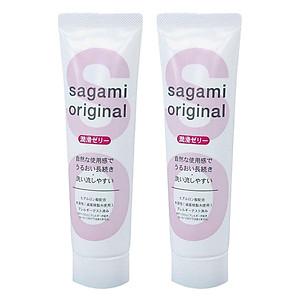 Bộ 2 Gel Bôi Trơn Cao Cấp Sagami (60g) [QC-Tiki]