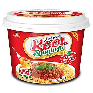 Tô Mì Khoai Tây Cung Đình Kool Sốt Spaghetti Hương Vị Thịt Bò Bằm Và Cà Chua