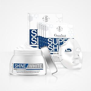 Combo 2 mặt nạ Cosmeheal Super Shine Mask và Super White Overnight Mask [QC-Tiki]