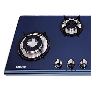 Bếp gas âm kính Sanko SH 389 CY 3 lò