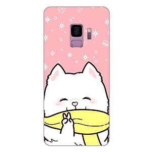 Ốp lưng dẻo cho Samsung Galaxy S9_Cute Dog 06