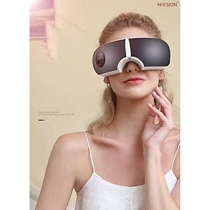 Máy Massage Mắt Bằng Ấp Suất Khí Có Tích Hợp Kết Nối Bluetooth Nghe Nhạc Thư Giãn Cao Cấp - Hàng Chính Hãng [QC-Tiki]
