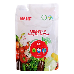 Nước Rửa Bình Sữa Farlin 700ml (Túi) - AF.10005